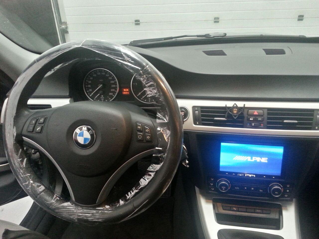Instalación de un Alpine ILX700 en un BMW E90 | Crossaudio ...